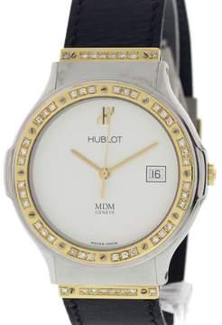 Hublot MDM Depose 1521.2 18K Yellow Gold / Stainless Steel 35mm Mens Watch