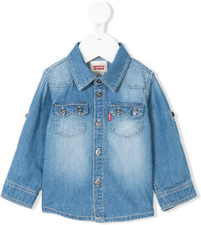 Levi's Kids long-sleeve denim shirt
