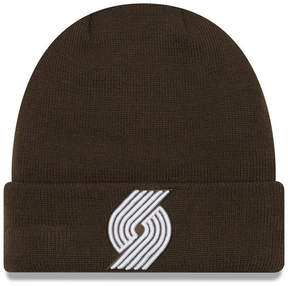 New Era Portland Trail Blazers Fall Time Cuff Knit Hat