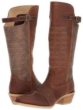 Durango Crush 14 Belted Collar Cowboy Boots