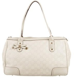 Gucci Medium Guccissima Princy Tote - WHITE - STYLE