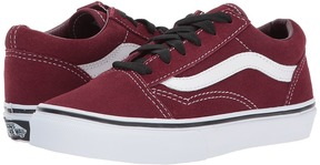 Vans Kids Old Skool Port Royal/Black) Boy's Shoes