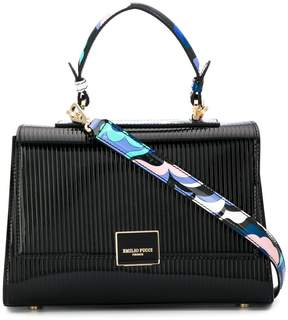 Emilio Pucci abstract-print details tote