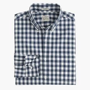 J.Crew Slim Secret Wash shirt in faded gingham