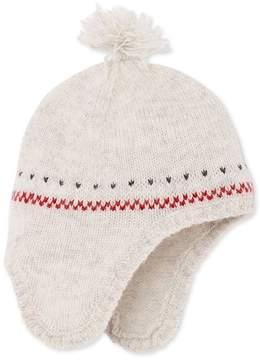 Petit Bateau BABY UNISEX PURE WOOL PERUVIAN CAP
