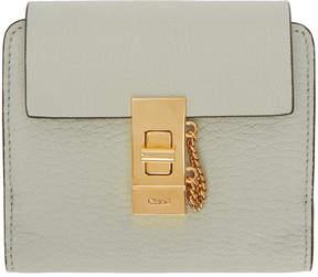 Chloé Blue Drew Compact Wallet
