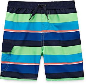 Trunks Okie Dokie Stripe Swim Toddler Boys