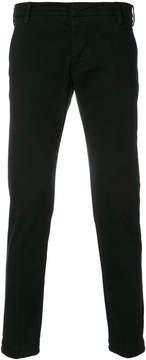 Entre Amis straight-leg suit trousers