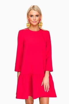 Edit Red Sutton Peplum Dress