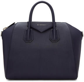 Givenchy Navy Medium Antigona Bag