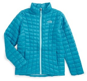 The North Face Girl's Thermoball(TM) Primaloft Quilted Jacket