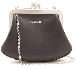 Vetements Granny Small Bag - Womens - Black