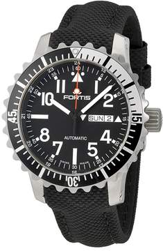 Fortis Marine Master Black Dial Men's Watch