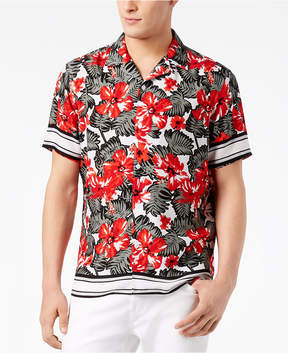 INC International Concepts I.n.c. Men's Tropical-Print Shirt, Created for Macy's