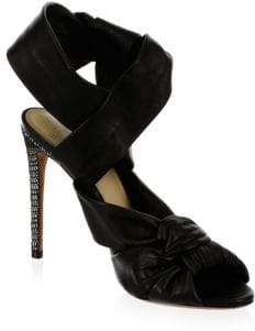 Alexandre Birman Maleah Leather Sandals