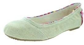 Toms Kids Ballet Flat Burlap Casual Shoe.