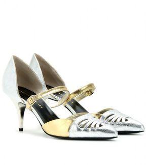Metallic Pumps And Sandals Popsugar Fashion