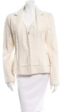 Christian Dior Textured Notch-Lapel Blazer