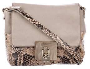 Lanvin Embossed Crossbody Bag