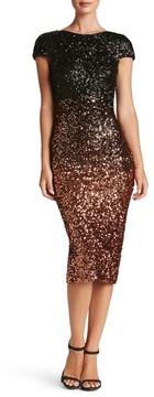 Dress the Population Women's Marcella Ombre Sequin Body-Con Dress
