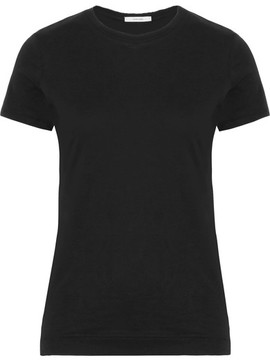 ADAM by Adam Lippes Pima Cotton T-shirt - Black