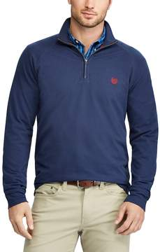 Chaps Men's Classic-Fit Quarter-Zip Stretch Knit Pullover