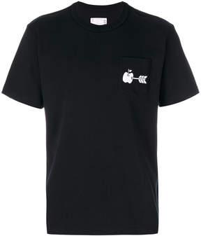 Sacai apple motif T-shirt
