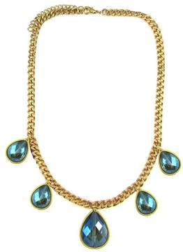 Ananda Golden Brass Necklace