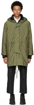 Our Legacy Green Sub Parka