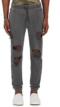 NSF Men's Distressed Cotton French Terry Sweatpants
