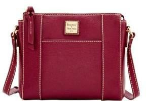 Dooney & Bourke Saffiano Lexington Crossbody Shoulder Bag - CRANBERRY - STYLE