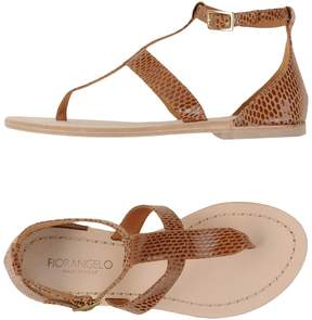 Fiorangelo Toe strap sandals