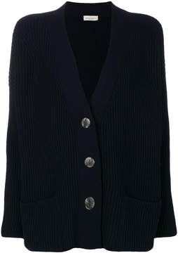 Bruno Manetti cashmere ribbed cardigan
