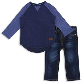 7 For All Mankind Boys' Raglan Tee & Jeans Set - Baby