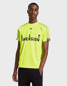 Alexander Wang Adidas X AW Soccer Jersey II in Solar Yellow/Black