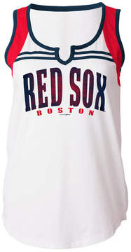 5th & Ocean Women's Boston Red Sox V Notch Tank