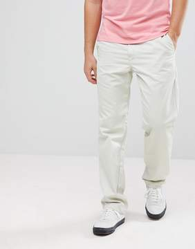 Carhartt WIP Master Pant In Relaxed Tapered Fit In Stone