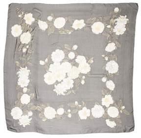 Chanel Silk Chiffon Scarf