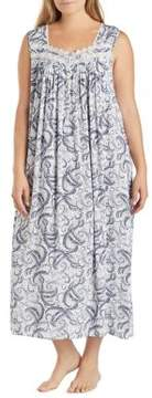 Eileen West Quill Print Dress