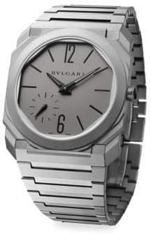 Bvlgari Octagonal Titanium Bracelet Watch