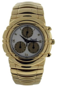 Piaget Tanagra Chronograph 18K Yellow Gold Men
