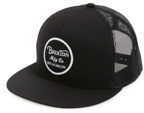 Brixton Men's 'Brood' Snapback Cap - Black
