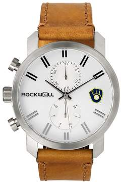Rockwell Men's Milwaukee Brewers Apollo Chronograph Watch
