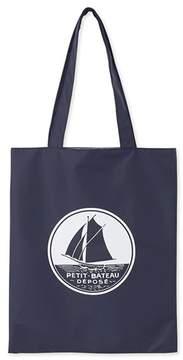 Womens plain waterproof shopping bag