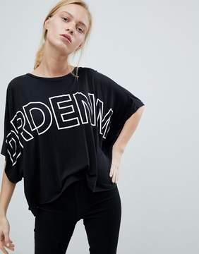 Dr. Denim Oversized Logo T Shirt