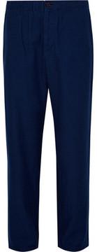 Blue Blue Japan Indigo-Dyed Cotton-Blend Trousers