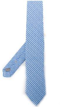 Canali gingham tie