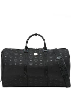 MCM Dieter Monogram Nylon Duffel Bag