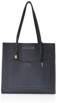 Marc Jacobs Grind T Pocket Leather Tote Bag