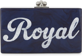 Edie Parker Jean Royal clutch bag